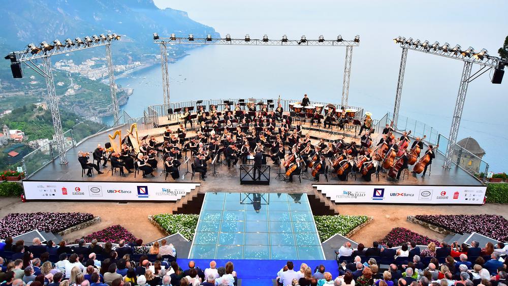 Музыкальный фестиваль в Равелло Амальфи побережье
